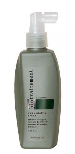 Спрей для тонких или ослабленных волос, BioTraitement Volume Volumizing Spray No Gas 1