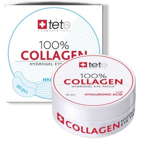Гидроколлагеновые патчи для глаз с гиалуроновой кислотой 100 % Collagen Hydrogel  Eye Patch 1
