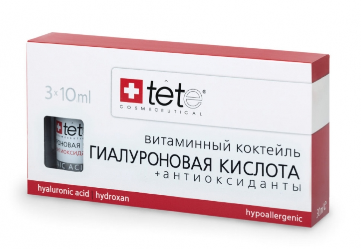 Гиалуроновая Кислота с антиоксидантами /Hyaluronic Acid + Antioxydants 1