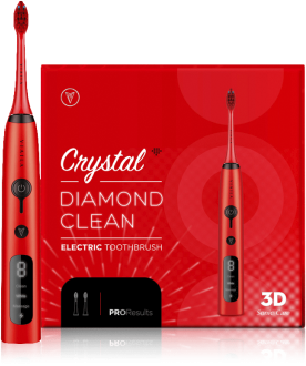 VIAILA CRYSTAL DIAMOND CLEAN ELECTRIC TOOTHBRUSH (RED) 1