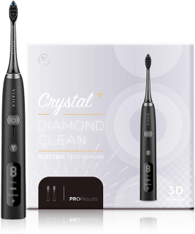 VIAILA CRYSTAL DIAMOND CLEAN ELECTRIC TOOTHBRUSH (BLACK) 1