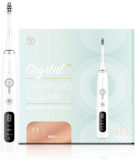 VIAILA CRYSTAL DIAMOND CLEAN ELECTRIC TOOTHBRUSH (WHITE) 1